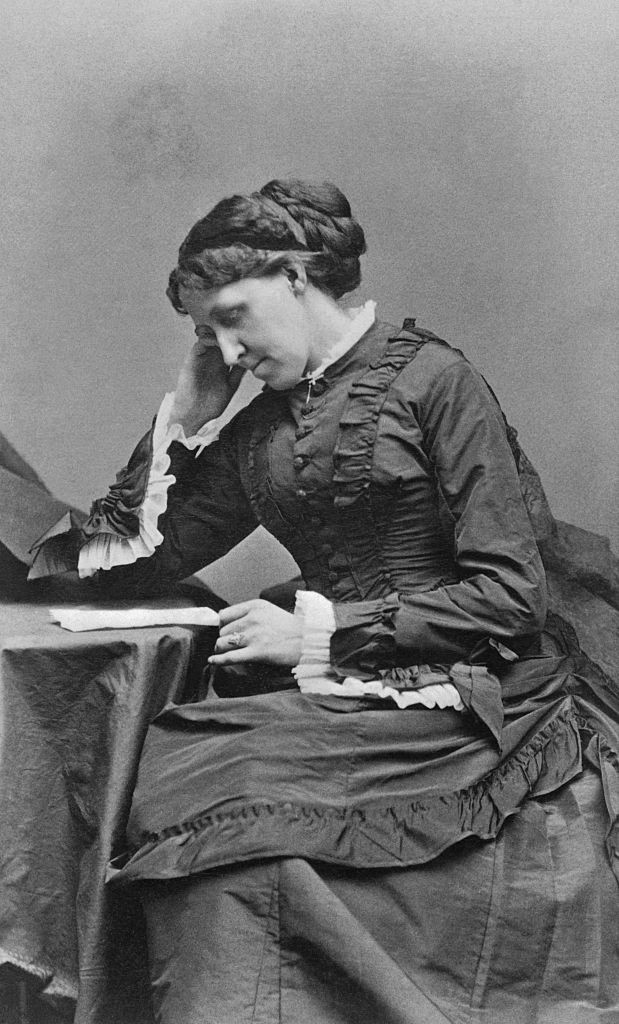 American novelist Louisa May Alcott. (Photo by Getty Images)