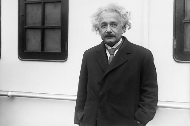 German-born physicist Albert Einstein.