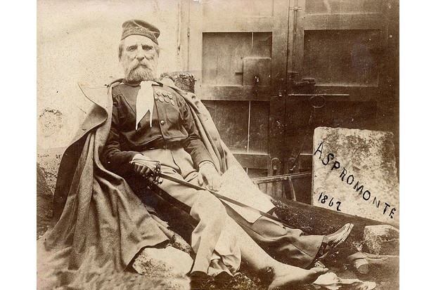 Giuseppe Garibaldi after being wounded in Aspromonte. (Photo by Stefano Bianchetti/Corbis via Getty Images)