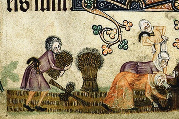 The weather was a matter of great concern to everyone during the Middle Ages, as society was dependent on agriculture and poor harvests could lead to real hardship. (Photo by Fine Art Images/Heritage Images/Getty Images)