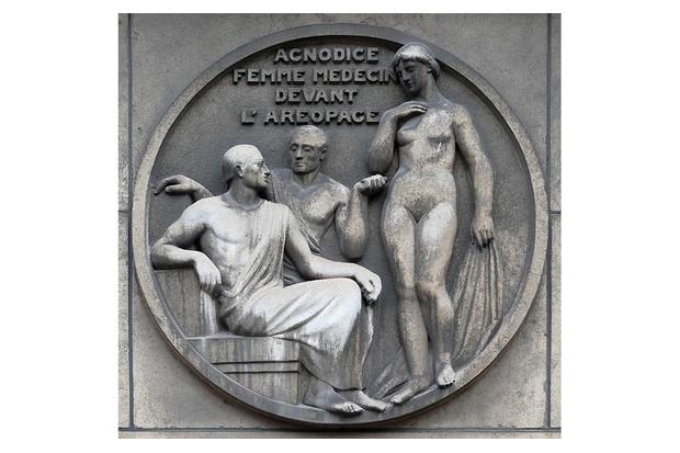 Pinoeering midwife Agnodice