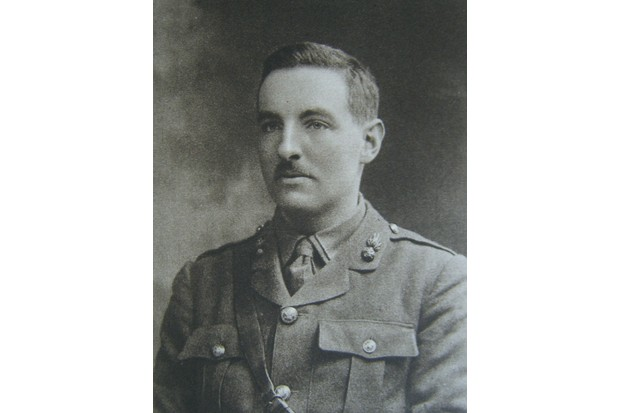 George Fletcher, who served as a trench messenger during the First World War