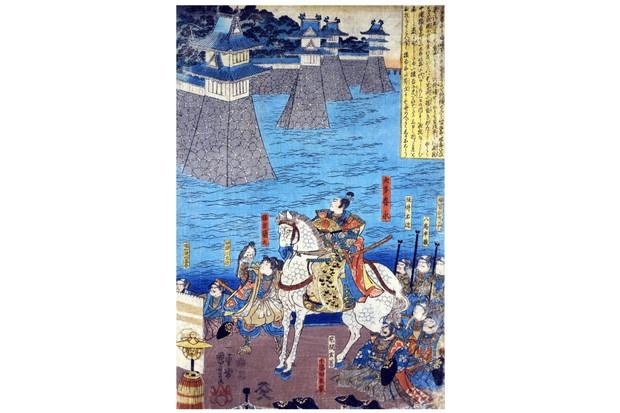 Japanese feudal lord Oda Nobunaga