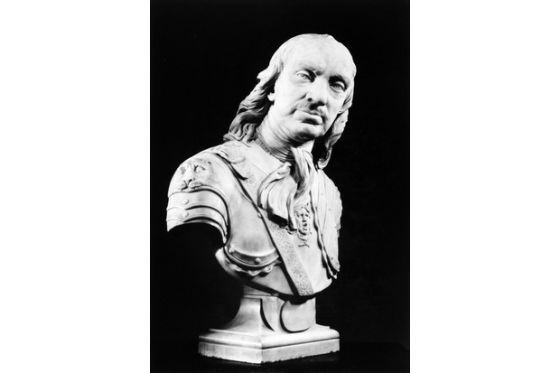 Joseph Wilton's 1762 bust of Oliver Cromwell