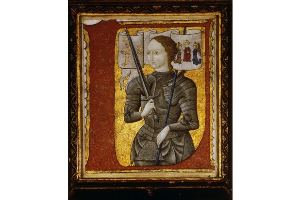 Joan of Arc, from a miniature of c1485
