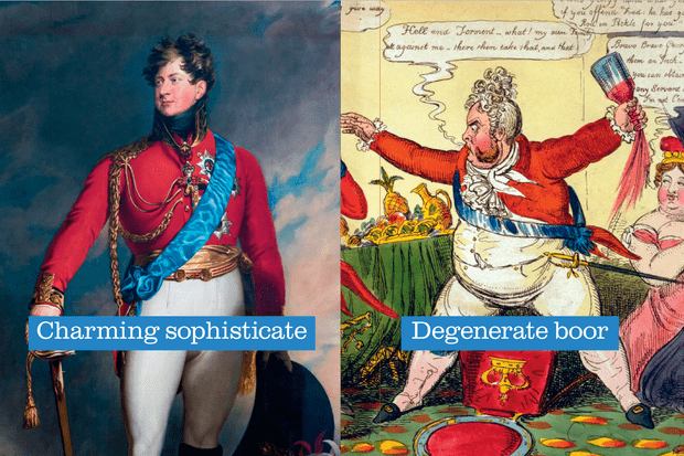 The two sides of George IV: is his wretched reputation deserved?