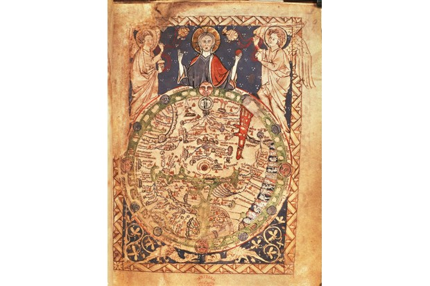A medieval map of London, c1265. (Photo By DEA PICTURE LIBRARY/De Agostini via Getty Images)