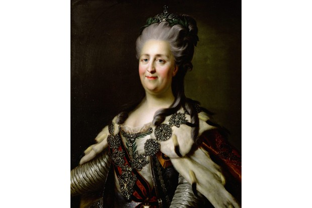 A portrait of Catherine the Great