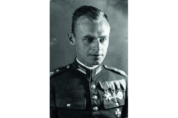 Polish army officer and resistance fighter Witold Pilecki