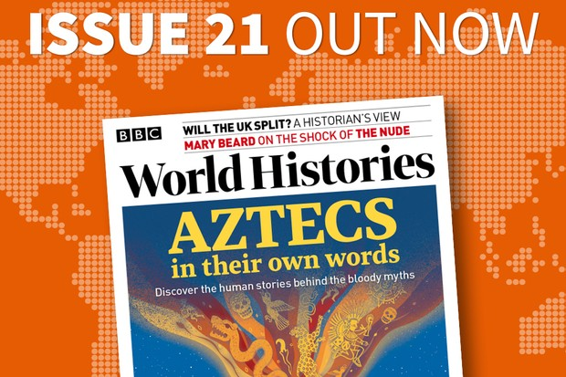 Issue 21 of BBC World Histories is out now