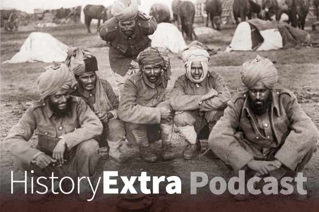 Indian soldiers during WWI