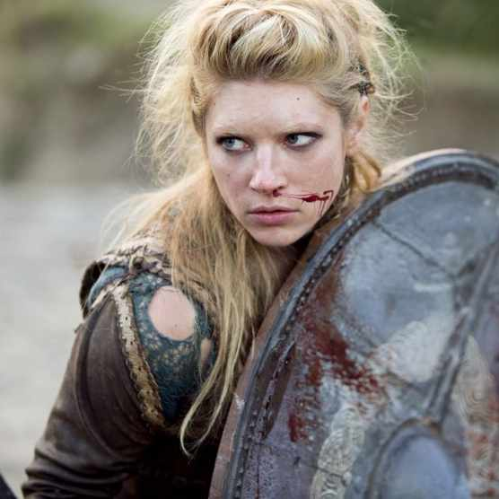 Katheryn Winnick as Lagertha in 'Vikings'. (Image by Alamy)