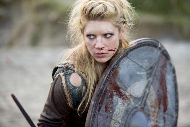 Katheryn Winnick as Lagertha in 'Vikings'. (Image by Alamy)