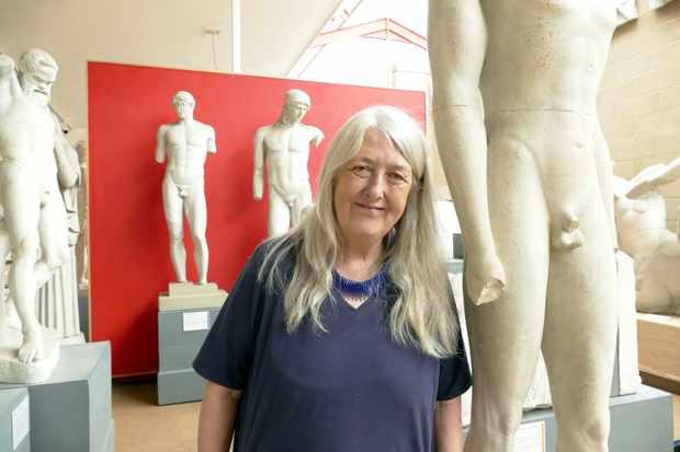 Mary Beard's Shock of the Nude. (Photo by BBC/Lion TV/Helena Hunt)