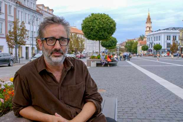 Confronting Holocaust Denial with David Baddiel (Image by Wall to Wall Media/Laurence Turnbull)