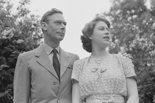 King George VI and his eldest daughter, Elizabeth