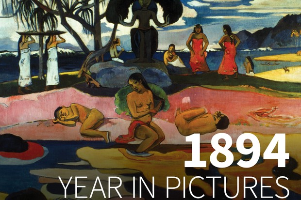 Day of the God, painted by Paul Gaugin. (Image by Alamy)