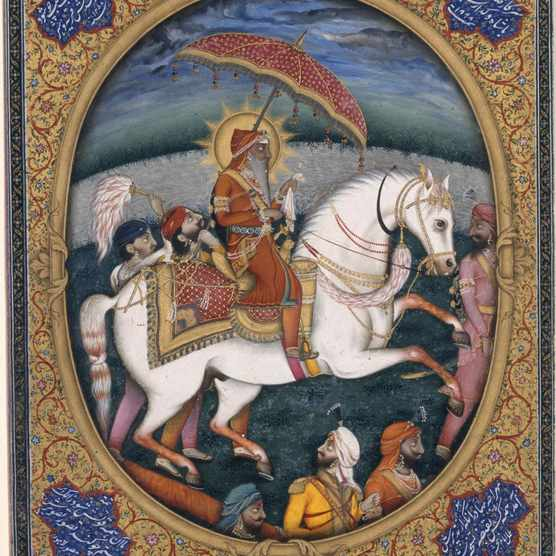 A 19th-century depiction of Maharaja Ranjit Singh. (Photo by Fine Art Images/Heritage Images via Getty Images)