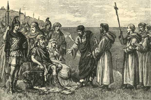 When did Christianity first arrive in Britain?