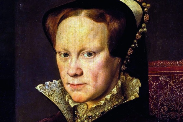 Anthonis Mor's portrait of Mary I from 1554
