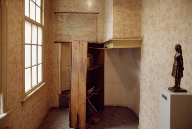 The bookcase in Anne Frank's house
