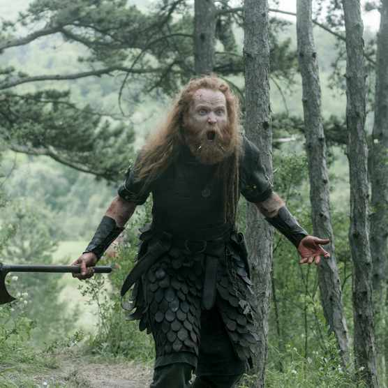 Magnus Bruun as Cnut in 'The Last Kingdom' season 4