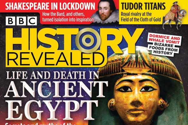 Issue 82 of BBC History Revealed magazine
