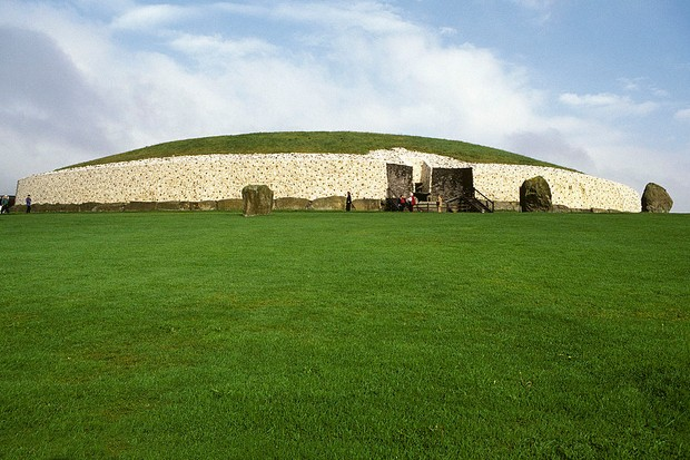 Newgrange Passage Tombs, Boyne Valley, County Meath, Ireland. (Photo by Hoberman Collection/Universal Images Group via Getty Images)