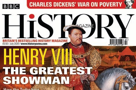 July 2020 issue of BBC History Magazine