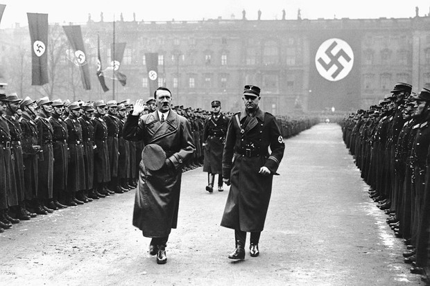 How did the Nazi party rise to power in Germany in 1933? And what were Hitler's motivations?