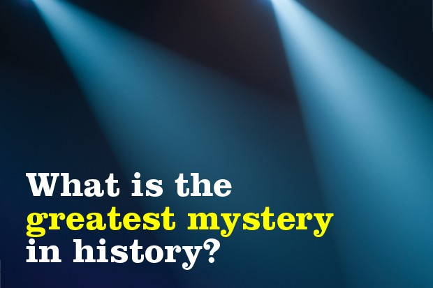What has been voted history's greatest mystery?