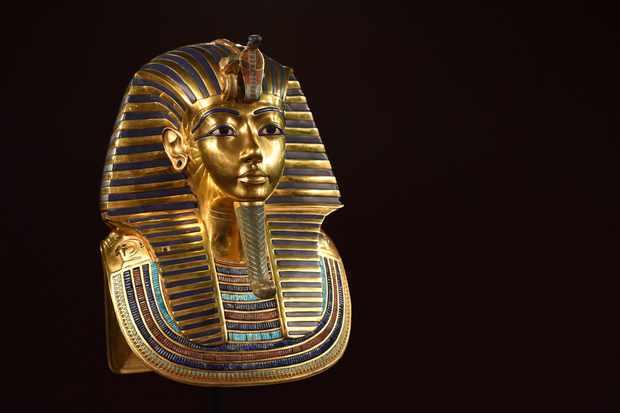 Tutankhamun death mask