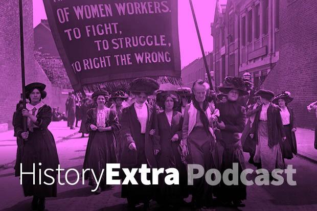 A suffragette march