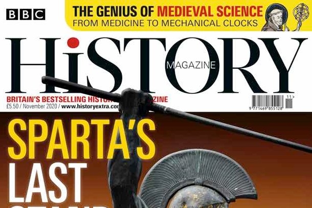 November 2020 issue of BBC History Magazine