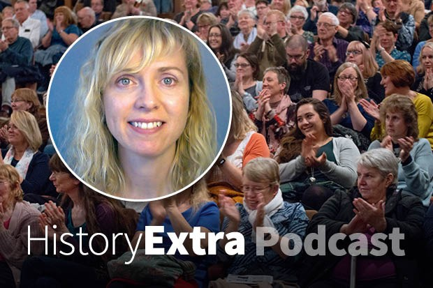 Elena Woodacre on the HistoryExtra podcast