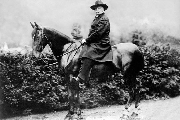 Otto von Bismarck, pictured on horseback, was instrumental in the creation of a unified German state and was among the most influential politicians of late 19th-century Europe.(Photo by ullstein bild/ullstein bild via Getty Images)
