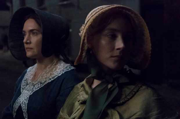 Mary Anning (Kate Winslet) and Charlotte Murchison (Saoirse Ronan) in Francis Lee's new film 'Ammonite'. (Photo courtesy of Lionsgate UK / See-Saw Films)