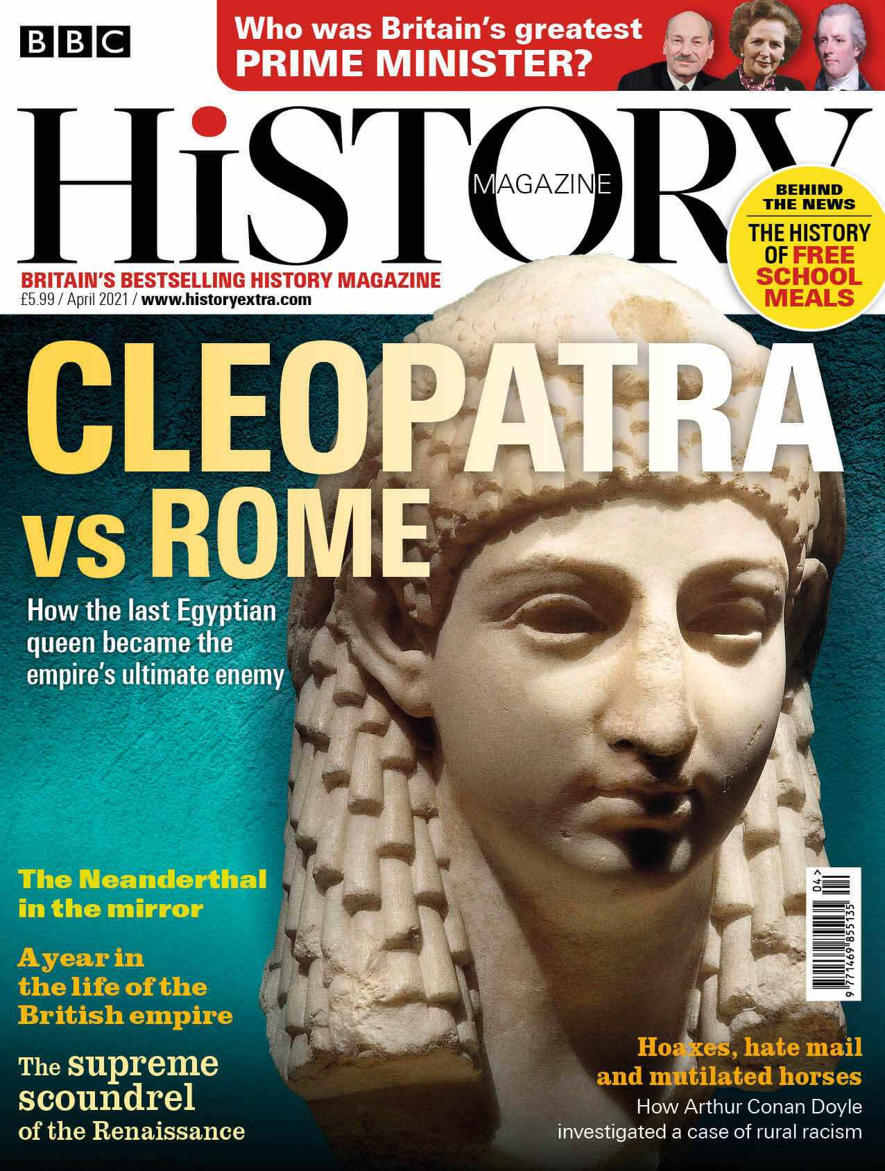 BBC History Magazine April 2021
