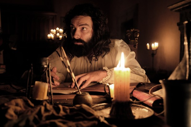 Aidan Turner as Leonardo da Vinci