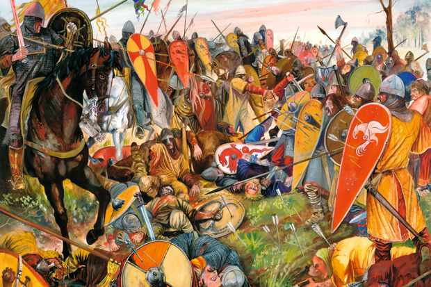 The battle of Hastings was fought on 14 October 1066. Had Harold survived it, William might have found his position untenable because of straightforward logistics, says historian Marc Morris