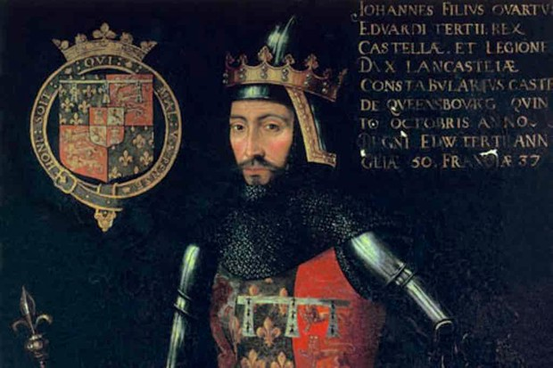 John of Gaunt: father of England's medieval monarchy and self-styled Spanish king