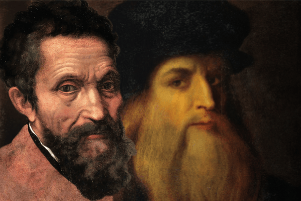 Leonardo & Michelangelo: rivalry and inspiration
