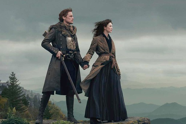 The historical drama series Outlander, based on a series of novels by Diana Gabaldon, has become a TV phenomenon. (Image by Outlander/Starz)