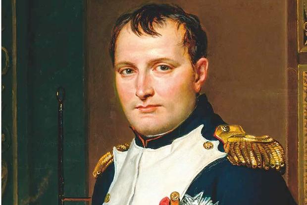 A portrait of Napoleon