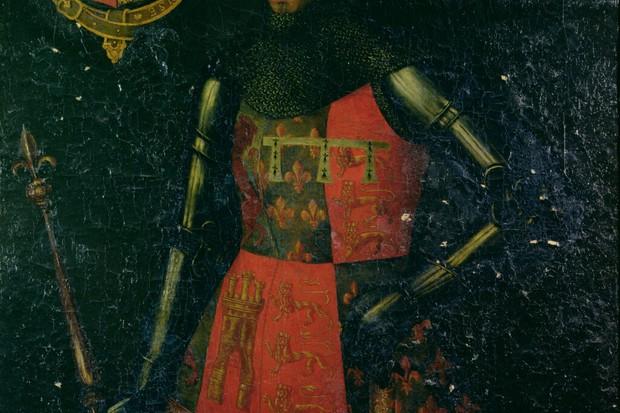 John of Gaunt shown in a c16th-century portrait