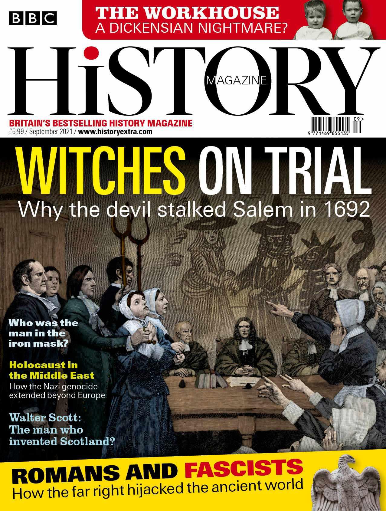 BBC History Magazine September 2021