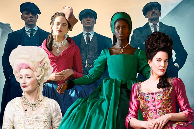 A composite of characters from 21st century period drama
