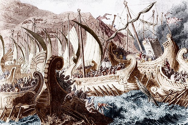 Salamis, 480 BC: a horror at sea for the Persian empire