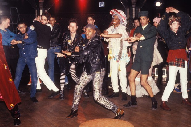 Dancers in a nightclub