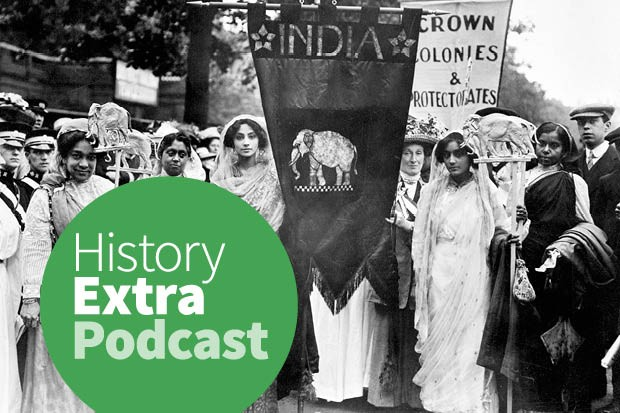 Sumita Mukherjee discusses India's women's suffrage movement, and how it connected to the wider struggle for Indian independence